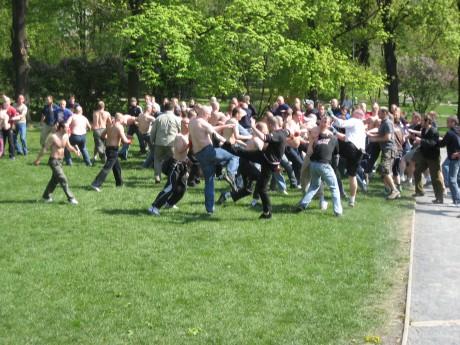 Bohemians – Opava (23.4.2007), pohled SFC