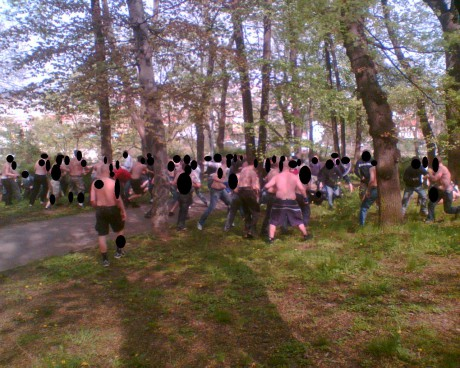 Bohemians 1905 – Sparta Praha (27.4.2008)