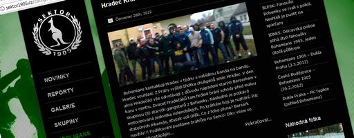 Nový web sektor1905.cz