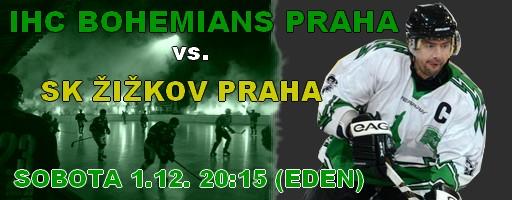 IHC Bohemians Praha – SK Žižkov Praha