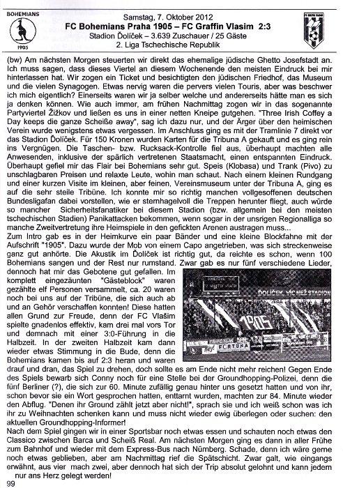 Der Daggl: 2 zápasy Bohemky
