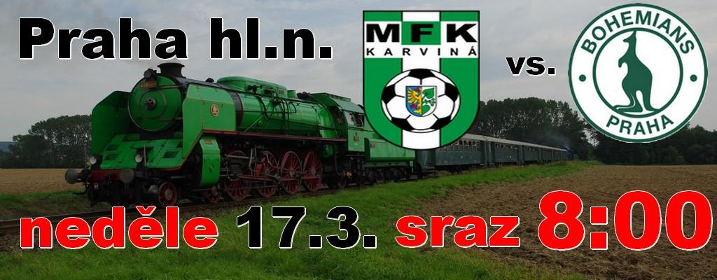 Společně vlakem do Karviné