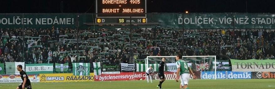 Bohemians Praha 1905 – FK Baumit Jablonec