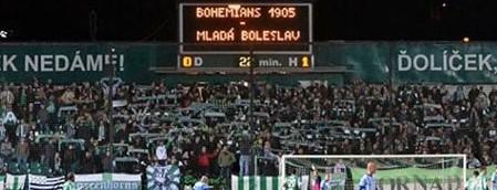 Bohemians Praha 1905 – FK Mladá Boleslav