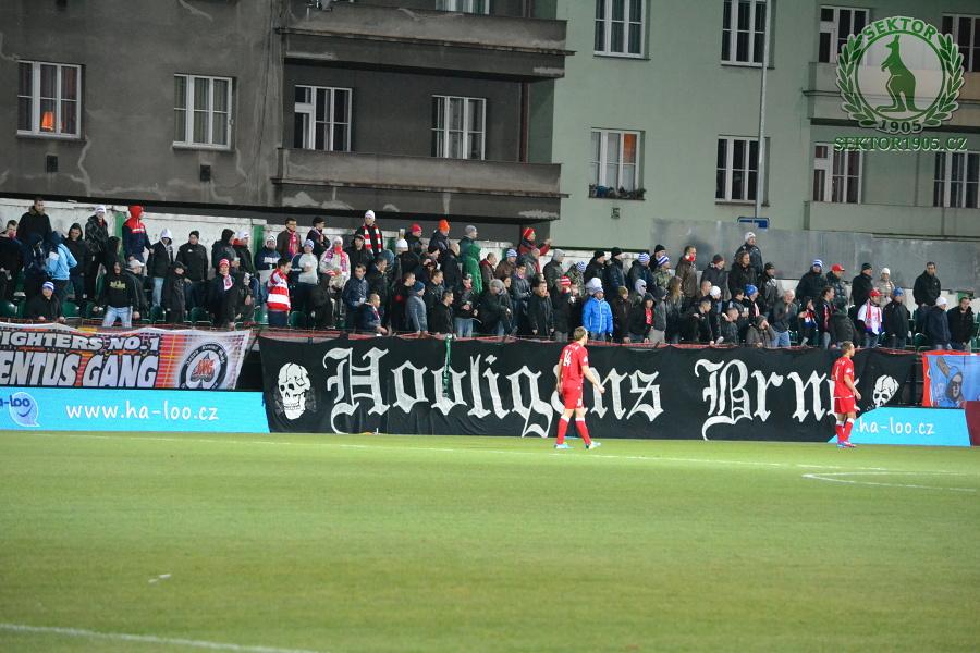 Bohemians Praha 1905 – FC Zbrojovka Brno