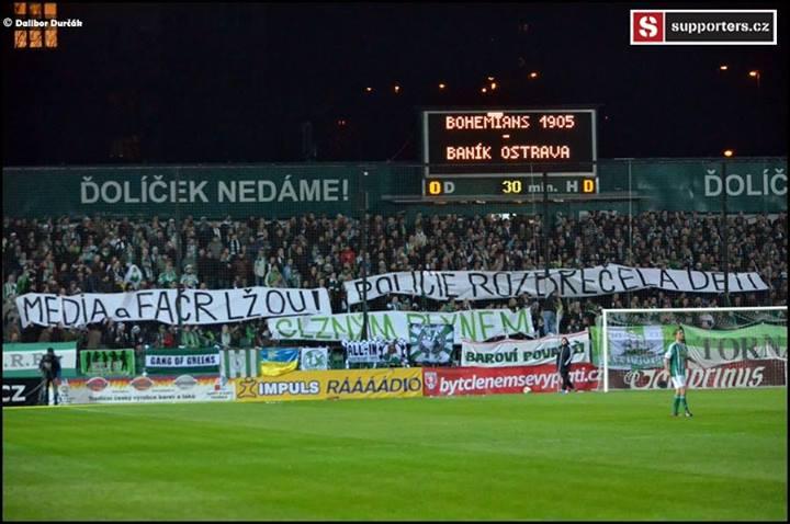 Bohemians Praha 1905 – FC Baník Ostrava