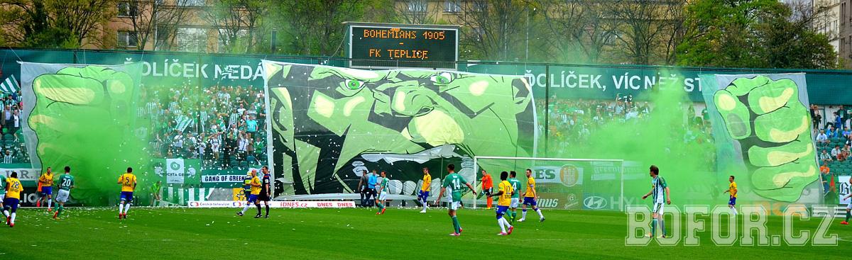Bohemians Praha 1905 – FK Teplice