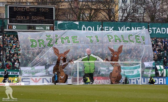 Bohemians Praha 1905 – FK Dukla Praha 1:0