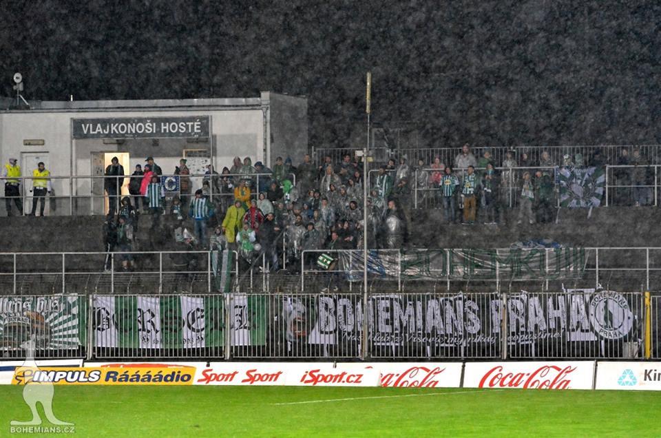 Brno - Bohemians, sektor hostí