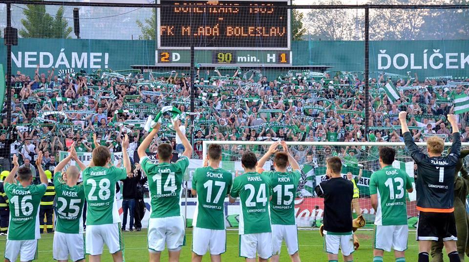 Bohemians Praha 1905 – FK Mladá Boleslav 2:0