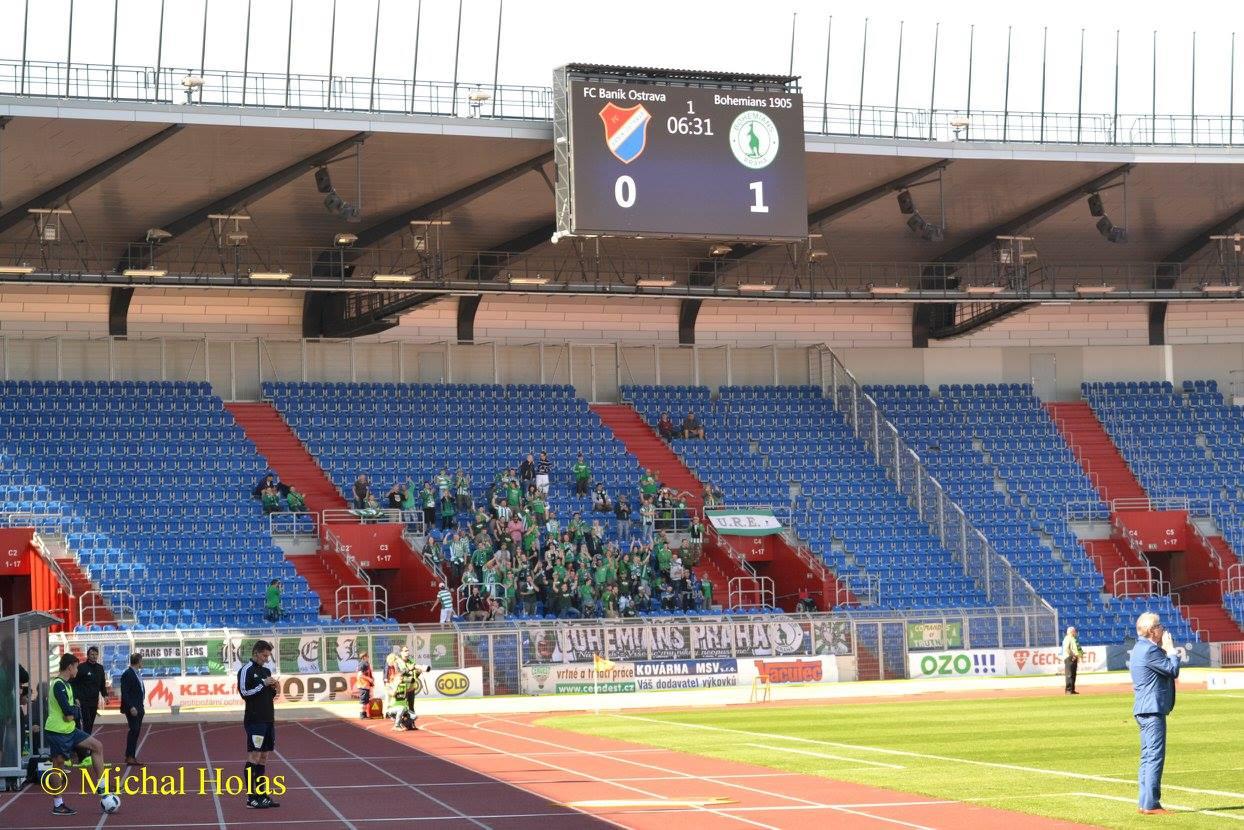 FC Baník Ostrava – Bohemians Praha 1905 1:2