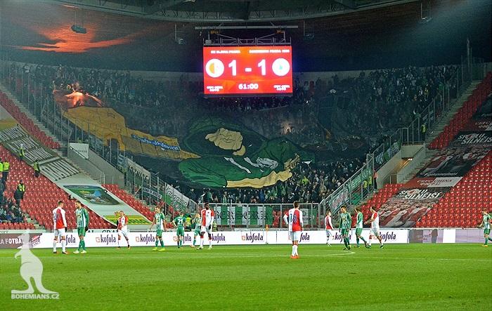 SK Slavia Praha – Bohemians Praha 1905 1:1