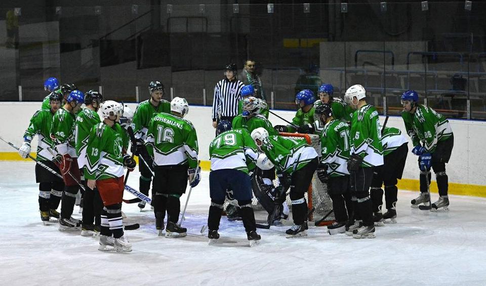 Po dvou letech opět společně na hokej!