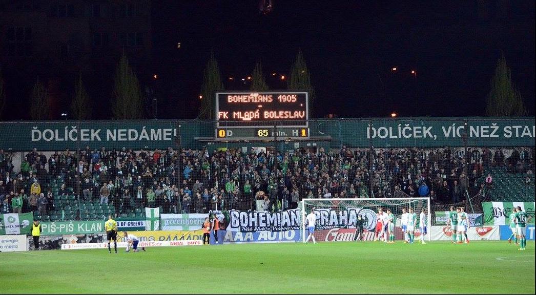 Bohemians Praha 1905 – FK Mladá Boleslav 1:2