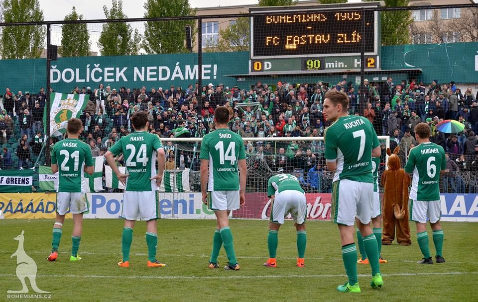 Bohemians Praha 1905 – FC Fastav Zlín 0:2