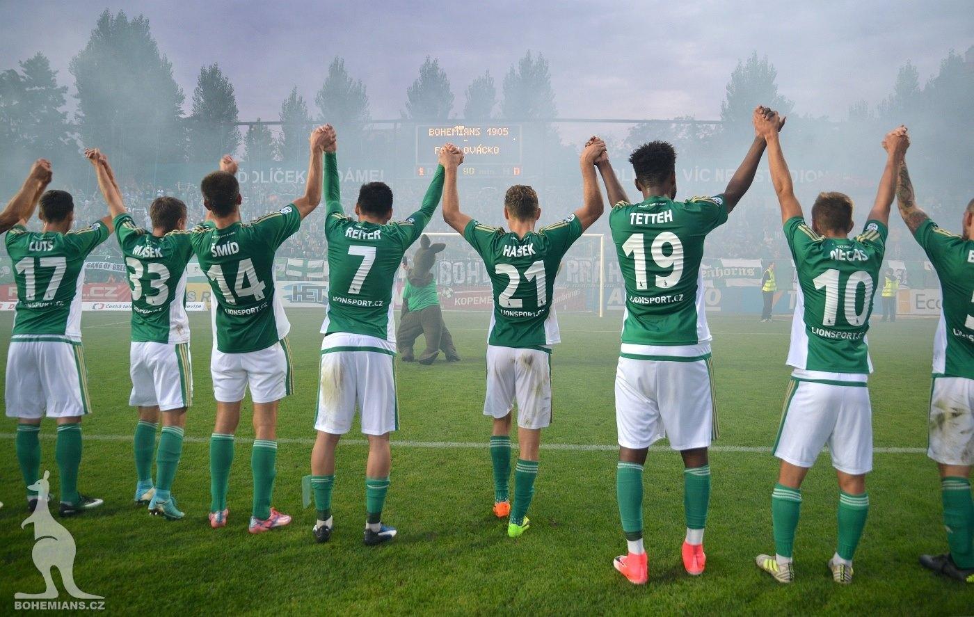 Bohemians Praha 1905 – 1. FC Slovácko 1:0