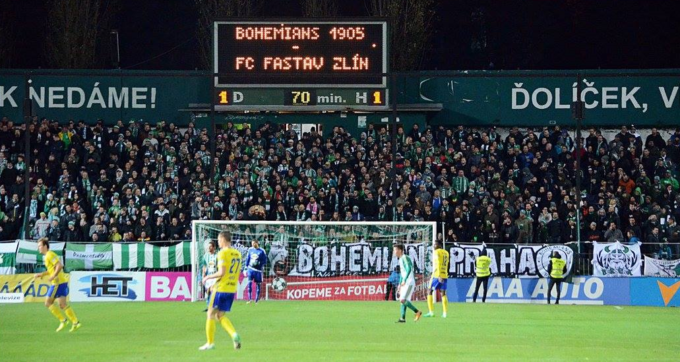 Bohemians Praha 1905 – FC Fastav Zlín 1:1