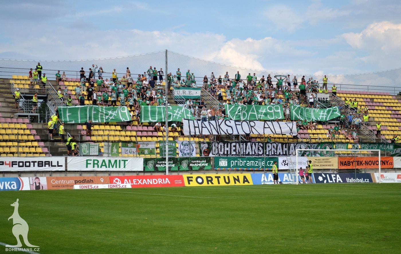 1. FK Příbram – Bohemians Praha 1905 4:2