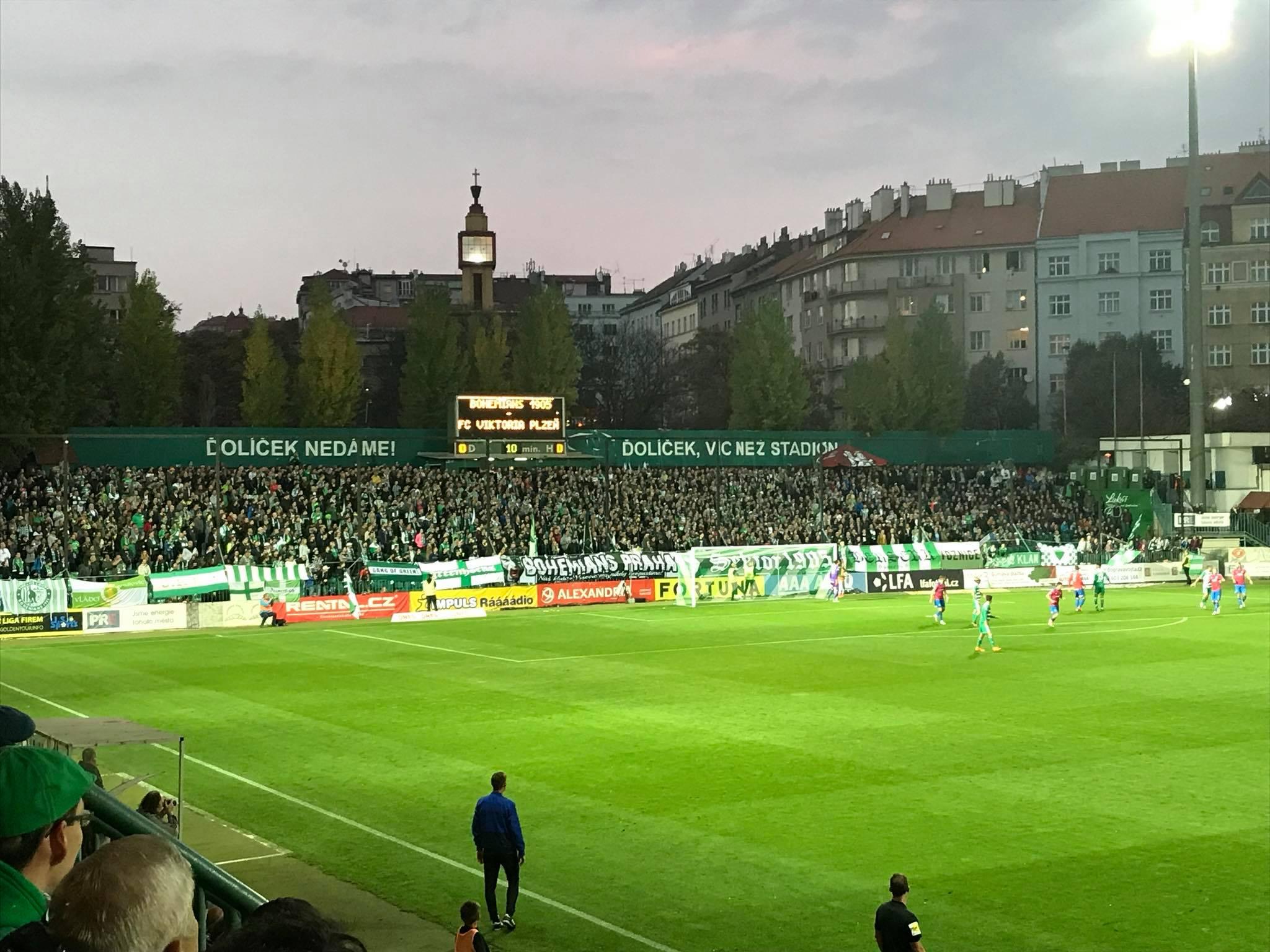 Bohemians Praha 1905 – FC Viktoria Plzeň 2:2