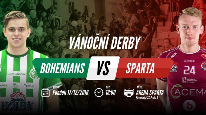 Poslední support v roce? Vánoční derby Bohemians – Sparta! #Vol. 3