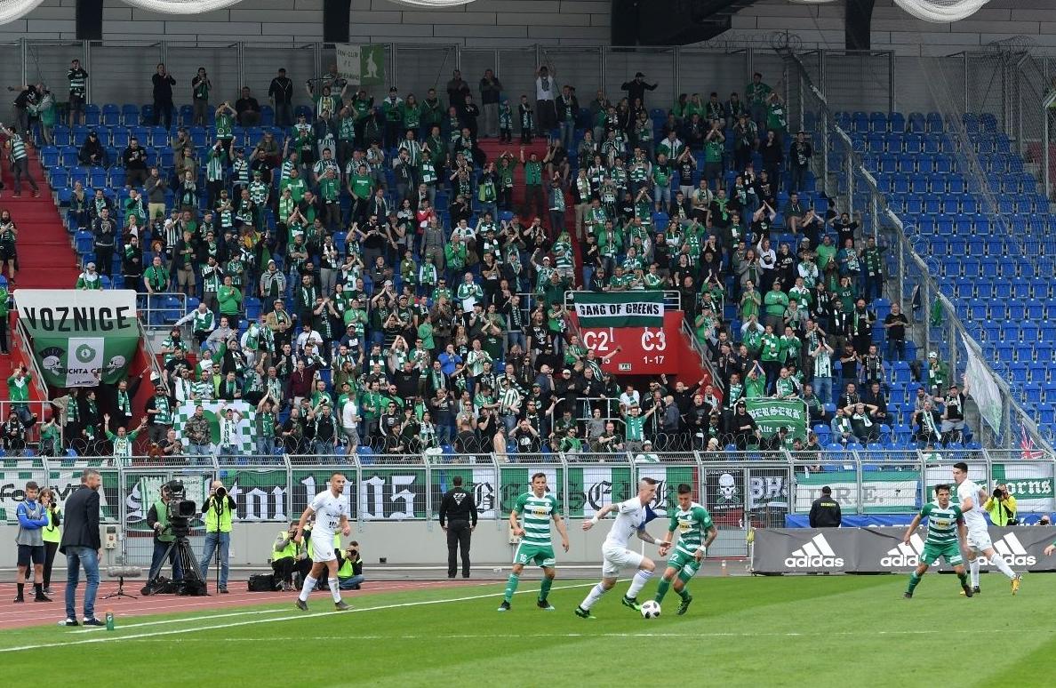 FC Baník Ostrava – Bohemians Praha 1905 1:0 (Semifinále poháru)