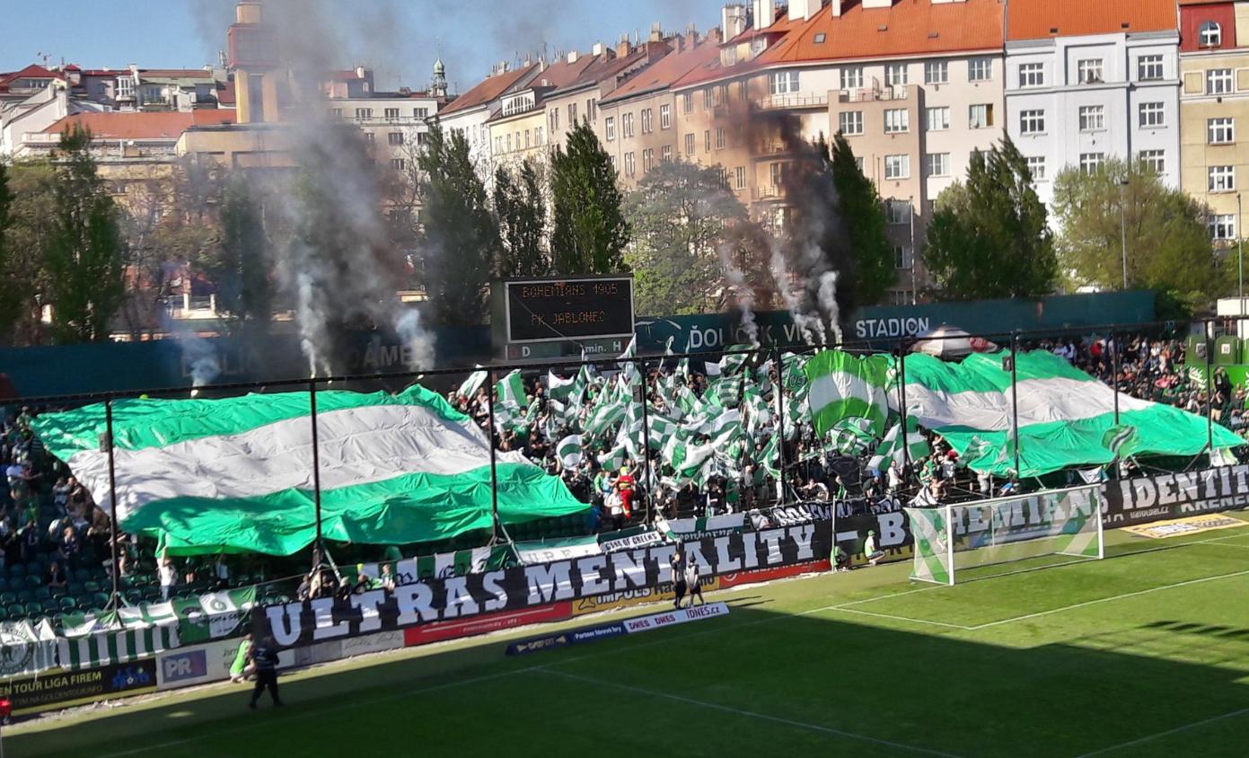 Bohemians Praha 1905 – FK Jablonec 1:0