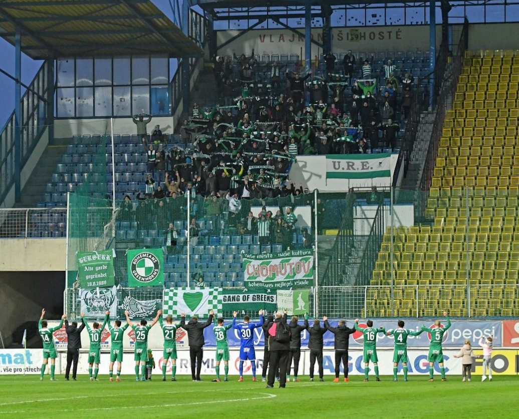 FK Teplice – Bohemians Praha 1905 1:2
