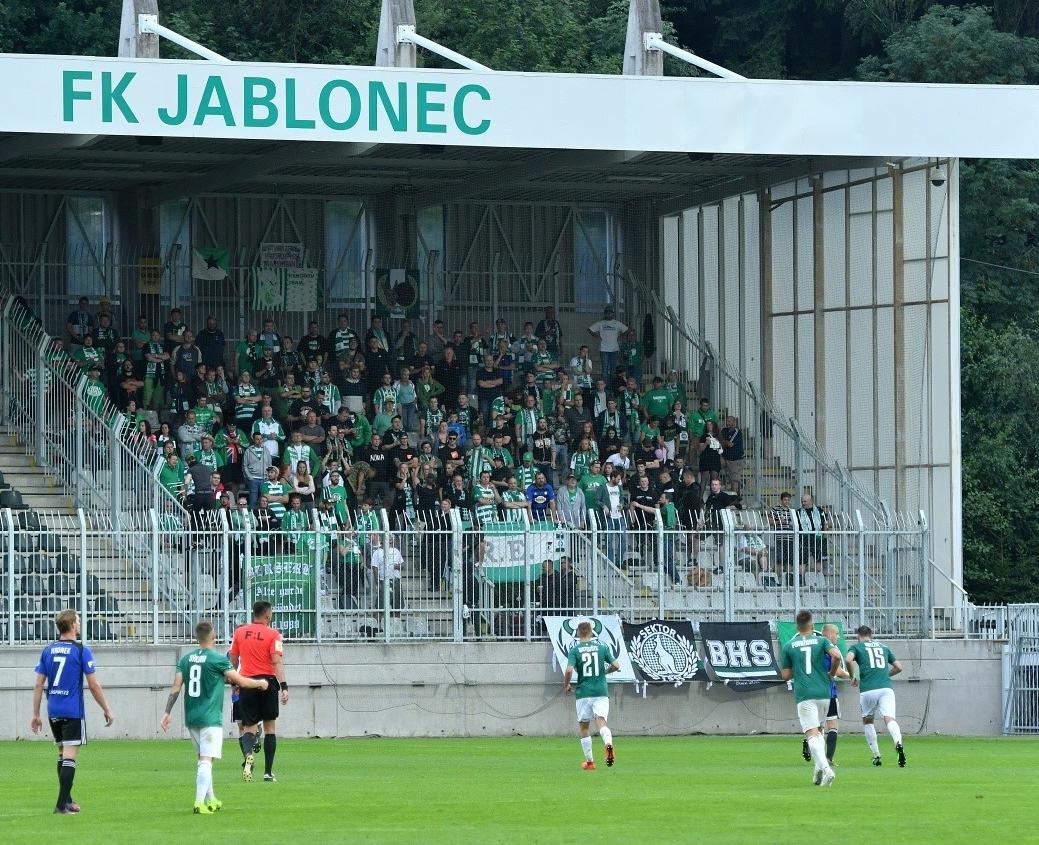 FK Jablonec – Bohemians Praha 1905 2:0