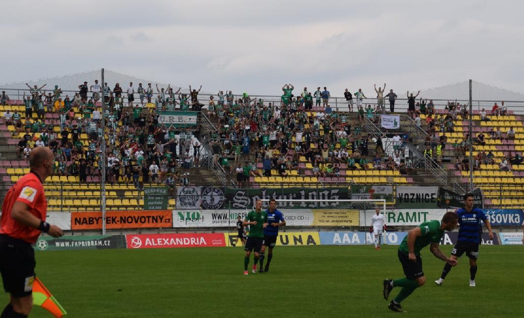 FK Příbram – Bohemians Praha 1905 3:2