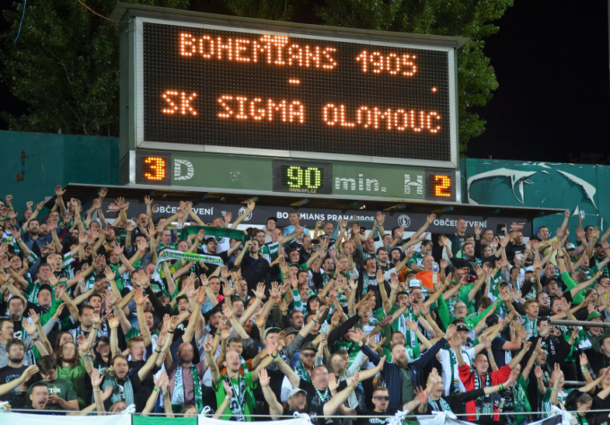 Bohemians Praha 1905 – SK Sigma Olomouc 3:2