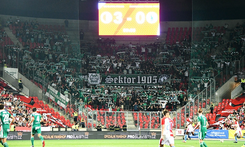 SK Slavia Praha – Bohemians Praha 1905 4:0