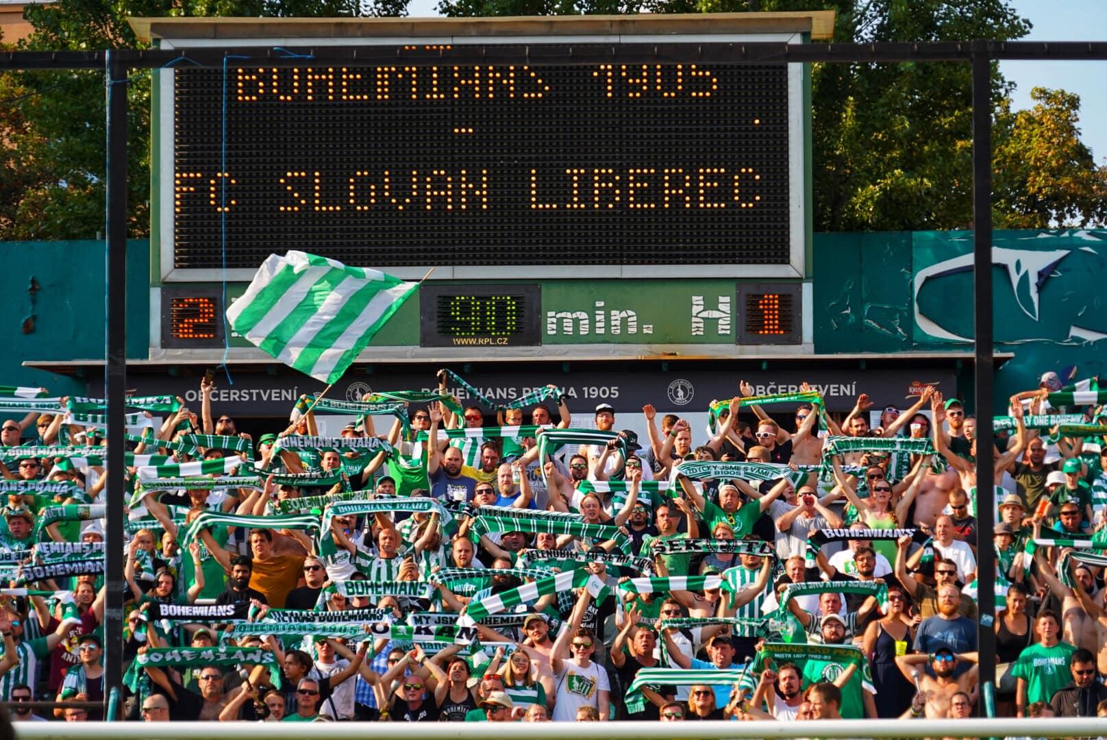 Bohemians Praha 1905 – FC Slovan Liberec 2:1