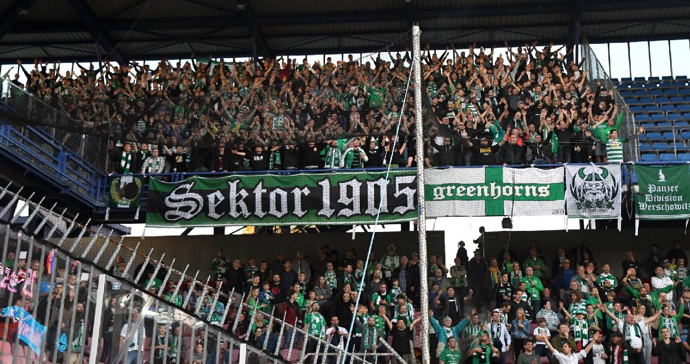 AC Sparta Praha – Bohemians Praha 1905 4:0