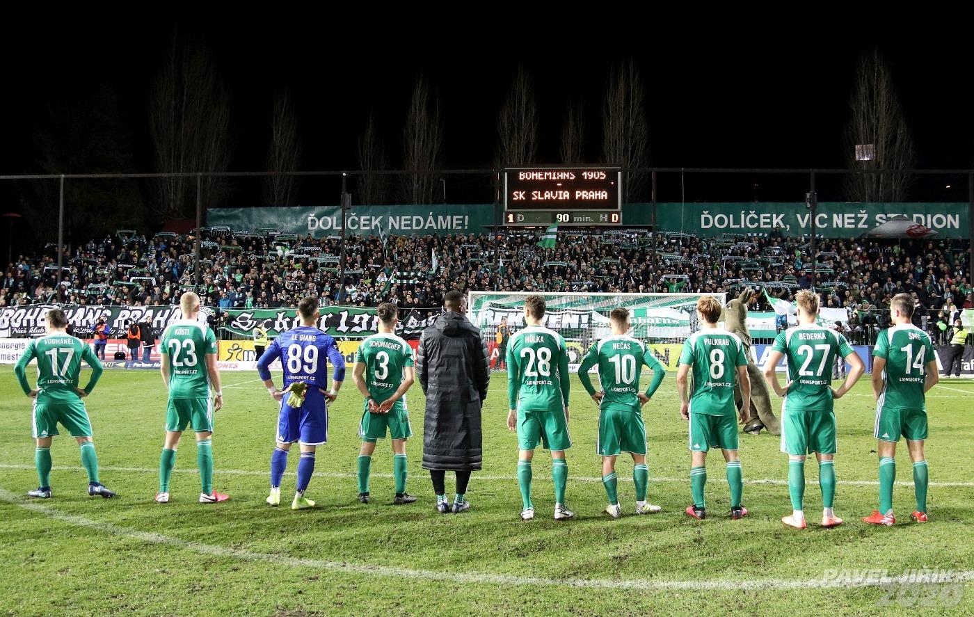 Bohemians Praha 1905 – SK Slavia Praha 1:0