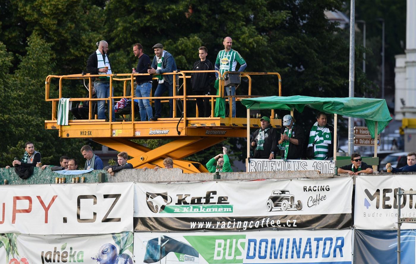 Bohemians Praha 1905 – AC Sparta Praha 0:1