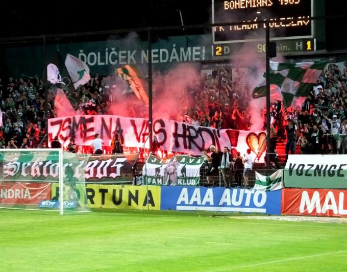 Bohemians Praha 1905 – FK Mladá Boleslav 2:1