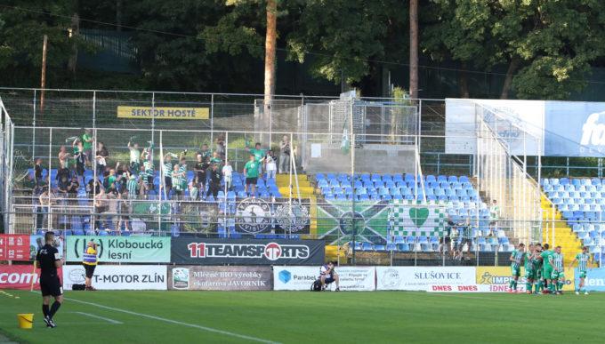 FC Fastav Zlín – Bohemians Praha 1905 1:3